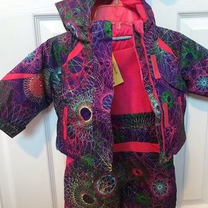 Winter Jacket Set (Multicolored)